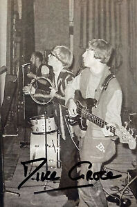 Mike Grose Hand Signed 6x4 Queen Bass Player Brian May Freddie Mercury Music