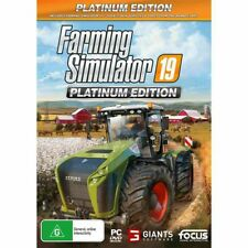 Farming Simulator 19 Platinum Edition PC Brand New