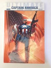 Ultimate Comics Captain America Hardcover Sealed New Never Read