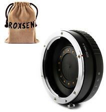 Canon EOS EF lens to Sony NEX E mount Adapter w Aperture A6000 A5100 NEX-5T 6 7