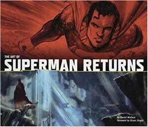 Brand New Hardcover The Art of Superman Returns by Daniel Wallace Jun 30, 2006