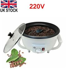 More details for 220v electric coffee bean roaster baking machine nuts roasting for home office