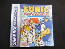 Sonic Advance para gameboy advance nuevo y precintado