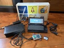 HP Jornada 720 Complet + Carte Réseau PCMCIA + CompactFlash 32MO + Housse