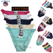 Lots of 5 Womens Hipster Boyshort Girl Panties Bikini Cotton Underwear M,L,XL(1)
