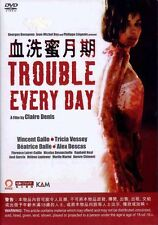 """Vincent Gallo """"Trouble Every Day"""" Tricia Vessey  Horror 2010 Region 3 DVD"""
