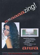 Aiwa XR-M88 Micro Hi-Fi System 1999 Magazine Advert #378