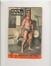 Health and Strength Bodybuilding Muscle Magazine/John Francis April 29,1954 G.B