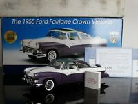 Franklin Mint 1955 Ford Crown Victoria Skyliner Limited 1:24 Scale Diecast Car