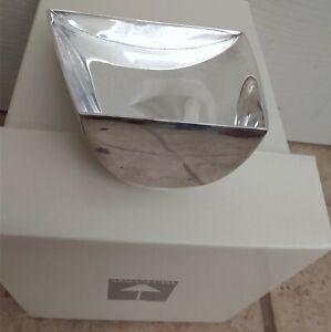 Armani Casa Designer Silver candy Holder Rare 255 grams or 9 oz