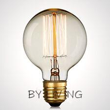 95mm 40w E27 Thomas Edison Vintage Industrial Filament Globe Light Bulb