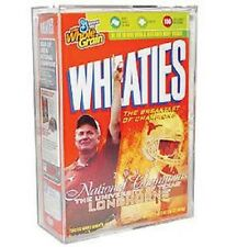 BallQube Cereal Box Holder / Display Case Wheaties and Other Cereal Boxes