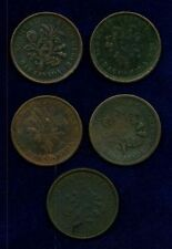 "CANADA  LOWER CANADA  1835-37 ""BOUQUET""  SOUS TOKENS"