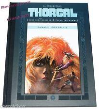 Tirage de Luxe THORGAL tome 1 La MAGICIENNE TRAHIE dos toilé Rosinski Van Hamme