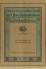 Katalognachdruck Lenzkirch No. 356