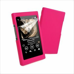 TUFF LUV Sony NW-A35 / A36 / A37 / A45 Silicone case & Screen Protection - Pink