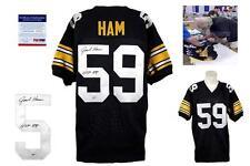 655f462909e Jack Ham SIGNED Jersey - PSA DNA - HOF 88 - Pittsburgh Steelers Autographed