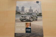 76262) Suzuki SX4 City Prospekt 04/2011
