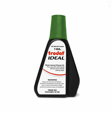 1 oz!!! GREEN Rubber Stamp Refill Ink (for self inking stamps & stamp pads)
