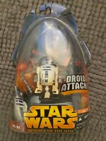 Star Wars Revenge of the Sith R2-D2 Action Figure 7 2005 NEW Droid Attack