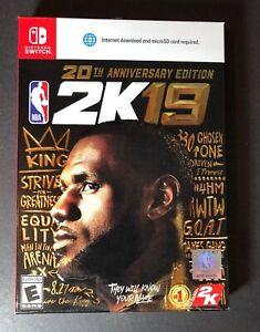 NBA 2K19 [ 20th Anniversary Edition ] (Nintendo Switch) NEW