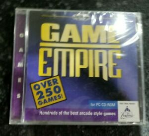 New Sealed Game Empire CD Over 250 PC Vintage software games Shareware Softkey