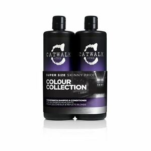 TIGI Catwalk Fashionista Violet Blonde Shampoo & Conditioner Duo 2 X 750ML