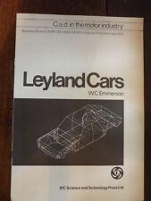 Leyland Cars C.a.d. in the motor industry UK market brochure Austin 18-22 wedge