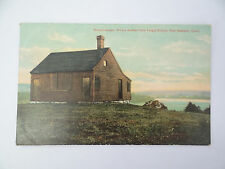 Antique Posted School House Nathan Hale Taught school East Haddam CT Postcard