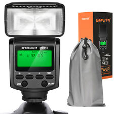 Neewer Nw610 Manual Flash Speedlite with Lcd Display for Canon Nikon Panasonic