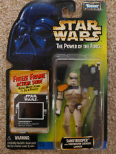 STAR WARS KENNER HASBRO SANDTROOPER FREEZE FRAME FF POWER OF FORCE POTF MOC 1997