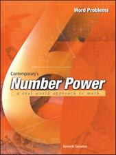 Contemporary's Number Power 6: Real World Approach to Math : Word Problems The