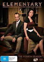 Elementary: The Fourth Season DVD (6 disc set)-Brand New-Still Sealed