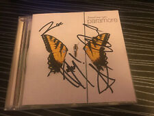 More details for paramore brand new eyes signed autographed hayley williams zac jeremy josh