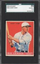 1933 Goudey #182    Andy High    Red Birds    SGC 55 !!!!