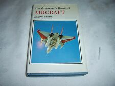 Old 1974 Edition of The Observers Book of Aircraft by William Green