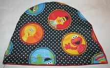 Kids Chemo Hat  Elmo, Sesame Street Alopecia Sleep Cap Cancer Hat