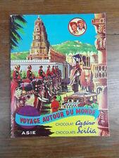ALBUM IMAGES CHOCOLAT CASINO SCILIA Voyage Autour du Monde ASIE (Lot No 1)