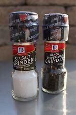 McCormick Grinders Set 1each  Sea Salt 2.12oz and Black Peppercorn 1.00 oz
