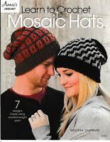 Learn to Crochet Mosaic Hats | Annie's 871637 NEW!