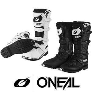 2021 ONEAL RIDER PRO MOTOCROSS MX ENDURO OFF ROAD BIKE BOOTS - BLACK or WHITE