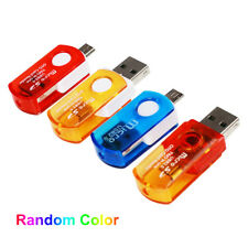 Mini Micro USB 2.0 OTG Adapter + Micro SD TF Card Reader for Android Smartphones