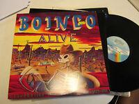 OINGO BOINGO ALIVE 2 lp original vinyl danny elfman '77 - '88 rare cuts PROMO!!