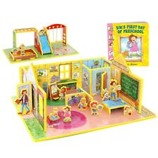 Storytime Toys D.W.'s First Day of Preschool 3D Puzzle - Book and Toy Set - 3