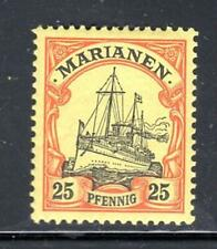 GERMANY  KAISERS YACHT MARIANEN Marianas ISLANDS STAMPS MINT NO GUM LOT 16767