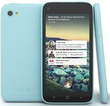 HTC FIRST Blue UNLOCKED AT&T 16 GB Smartphone 4G LTE WIFI TOUCHSCREEN *New-Other