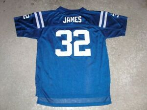 Indianapolis Colts EDGERRIN JAMES Football Jersey youth XL