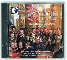 A BAROQUE CELEBRATION - BACH - HANDEL - LULLY- PURCELL- OTHERS - NEW CD -WRAPPED