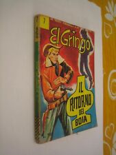 EL GRINGO N. 7 ORIGINALE CORNO - COLLANA WINCHESTER  - ANNO 1966
