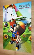 Conker's Pocket Tales / South Park Poster 44x30cm Game Boy Nintendo Gameboy